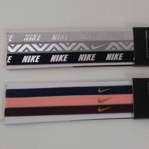 Nike Athletic Workout Headband Set of 6